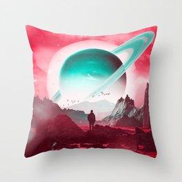 Forever Seeking Throw Pillow