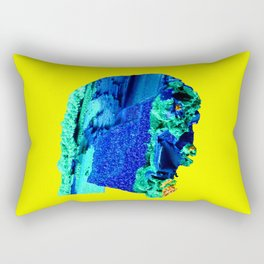 Azurite Face Rectangular Pillow