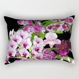 Orchids - Cool colors! Rectangular Pillow