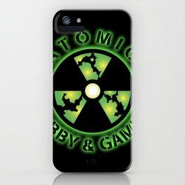 Atomic Hobby Shop iPhone Case