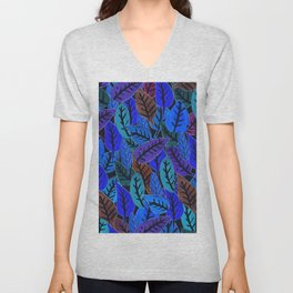 Forest of Leaves Unisex V-Neck