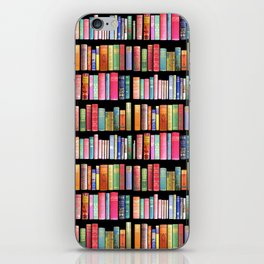 Vintage Book Library for Bibliophile iPhone Skin