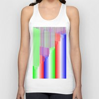 pivot Tank Tops featuring R Experiment 3 (quicksort v1) by X's gallery