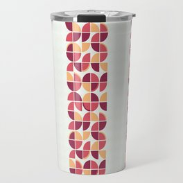 Retropolis Coral Travel Mug