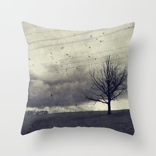 one of these days - autumn mood Throw Pillow