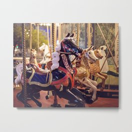 Paris Carousel Metal Print