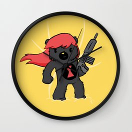 Bear Widow  Wall Clock