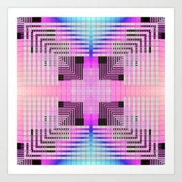 Transmute Art Print