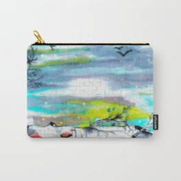 Mosaic Forest Carry-All Pouch