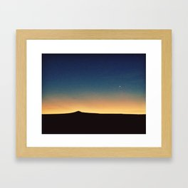Southwestern Sunset Framed Art Print