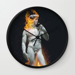 Unbothered Wall Clock