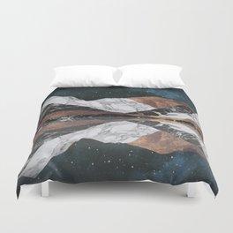 Landscape Mountains Duvet Cover