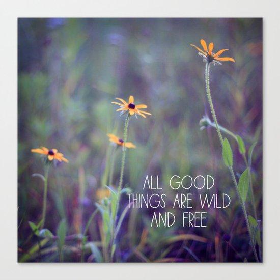All Good Things (Daisy) Canvas Print
