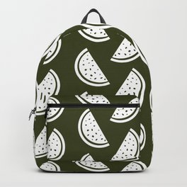 watermelon (olive green) Backpack