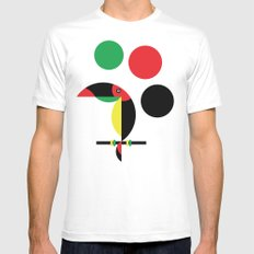 Tucan Mens Fitted Tee White MEDIUM
