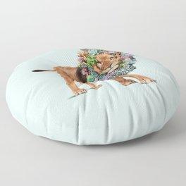 SUCCULENT LION Floor Pillow