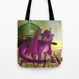 Dragonlings of Valdier: Jade Tote Bag