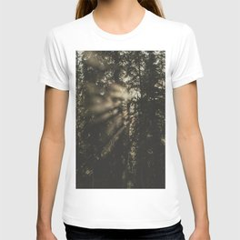 Sunset in the Woods - Nature Photography T-shirt