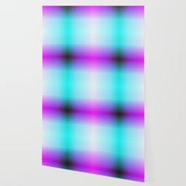 Purple Blue Black Ombre Hexagons Bi-lobe Contact binary Wallpaper