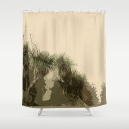 """""""Not Your Average Wallflowers"""" Shower Curtain"""