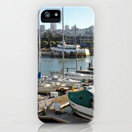 Marinas Of The World (Pt. 5 - San Francisco, California) iPhone Case