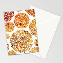Floral Blaze Stationery Cards