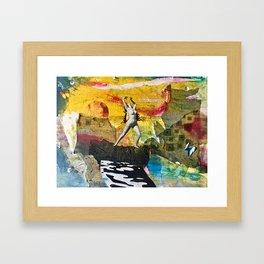 Dispensing Vicarious Thrills Framed Art Print