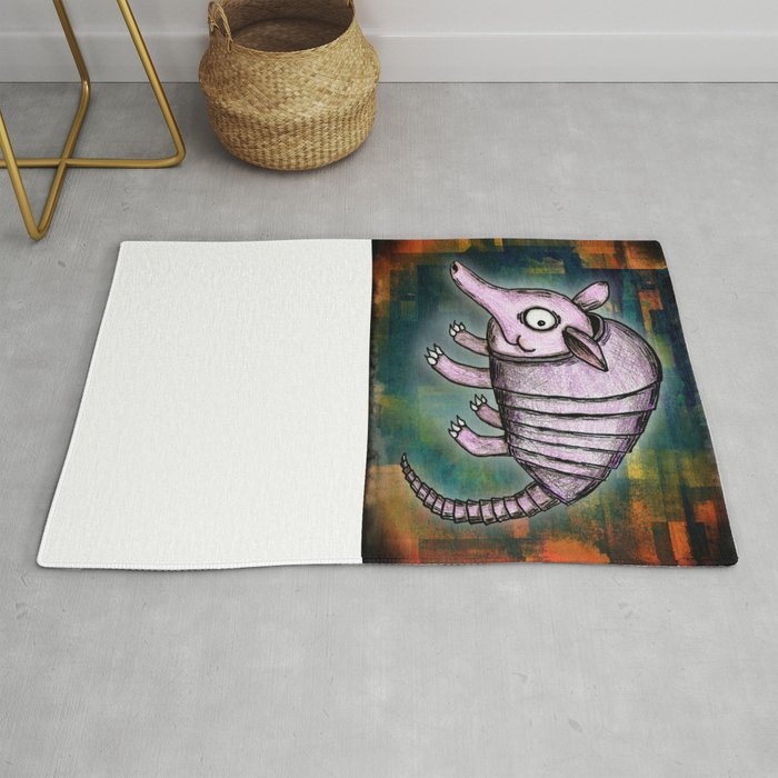 Archie The Armadillo Rug By