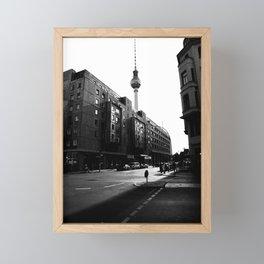 Berliner Straßen Framed Mini Art Print