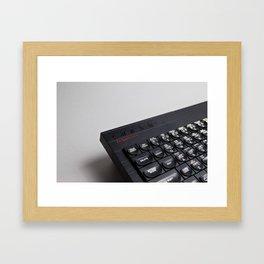 ZX Spectrum+ Framed Art Print