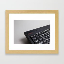 ZX Spectrum+ Framed Art Print