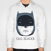old school Hoodies featuring old school by Louis Roskosch