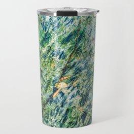 Ocean Life Abstract Travel Mug