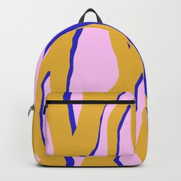 Electric tiger stripes Backpack