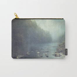 Stones in A River Carry-All Pouch