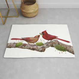 Northern  Cardinals Rug