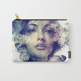 Blossom Girl Carry-All Pouch