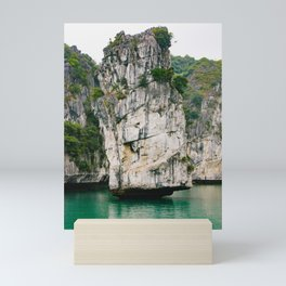 Amazing Rock Formation in Vietnam Mini Art Print