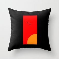 It's Just Another Day Throw Pillow