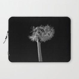 Monochromatic dandelion Laptop Sleeve