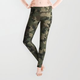 Rubber ducks camouflage Leggings