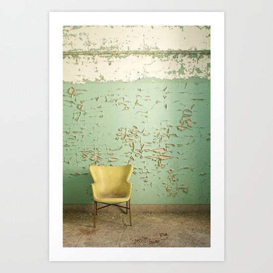 sit pretty with me Art Print