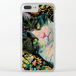 Yeah I Am Back Clear iPhone Case