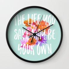 TLYS Mint Wall Clock