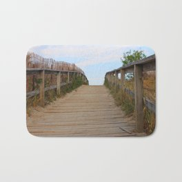 Ocean Footbridge Bath Mat