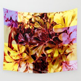 Foliage Patchwork #11 Wall Tapestry