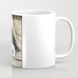 Raven Skull Coffee Mug