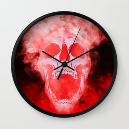 Silent Scream Wall Clock
