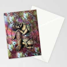 harmony and silence Stationery Cards