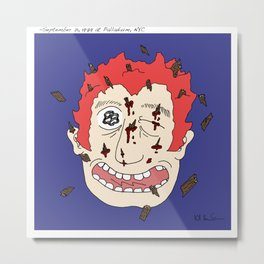 The Clash Metal Print